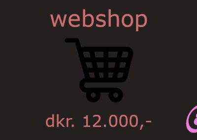webshop, woocommerce, e-shop