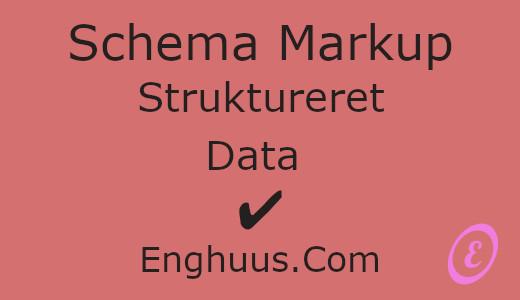 Schema Markup Skaber struktur på din hjemmeside og gør indholdet mere tilgængeligt gør Google