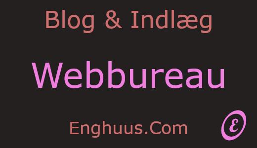 Blog & Indlæg Webbureau