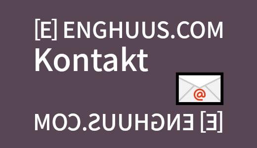 kontakt webbureauet enghuus.com